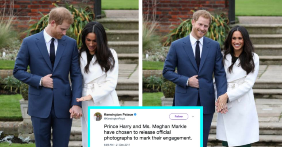 Prince Harry and Meghan Markle's Official Engagement Photos Are Here!