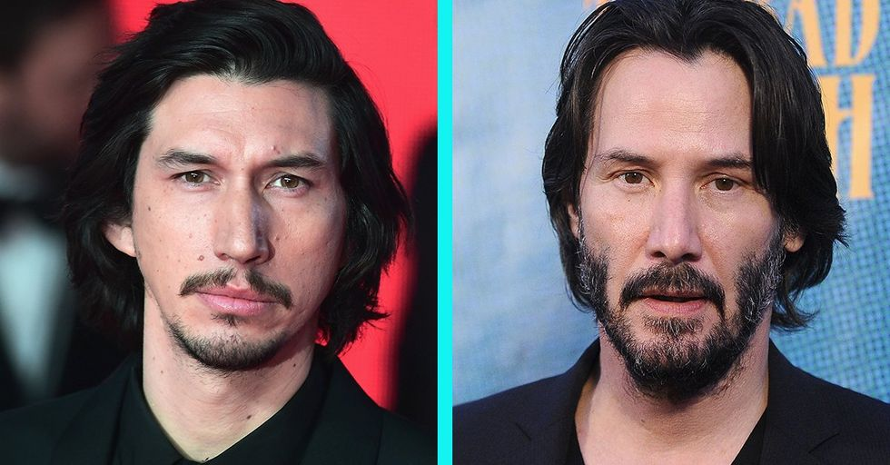 People Are Completely Losing Their Minds Over This Uncanny Keanu Reeves Adam Driver Face Swap
