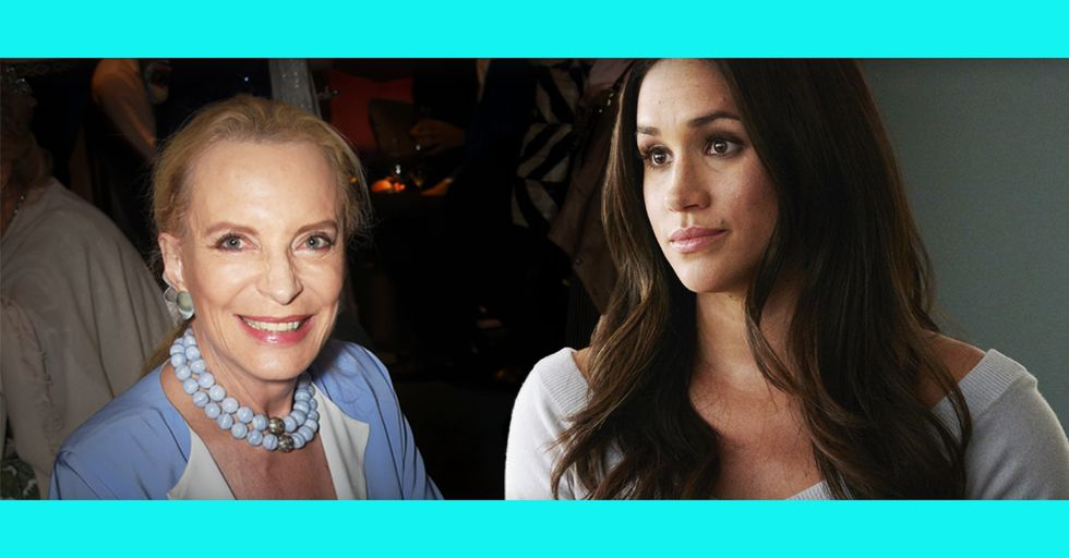 Princess Michael of Kent Just Wore This Outrageously Offensive Piece of Jewelry To Meet Meghan Markle