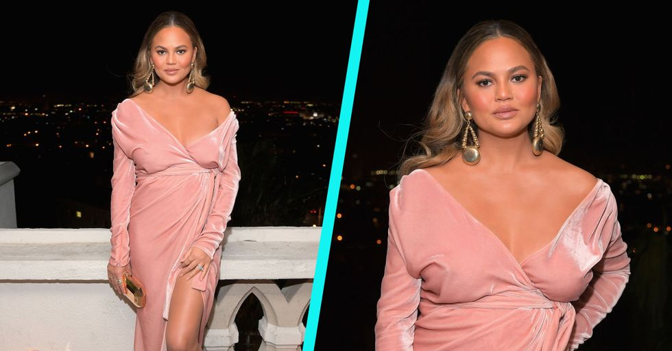 Chrissy Teigen Just Live-Tweeted Her 8-Hour Flight From Hell and It's Both Hilarious and Insane