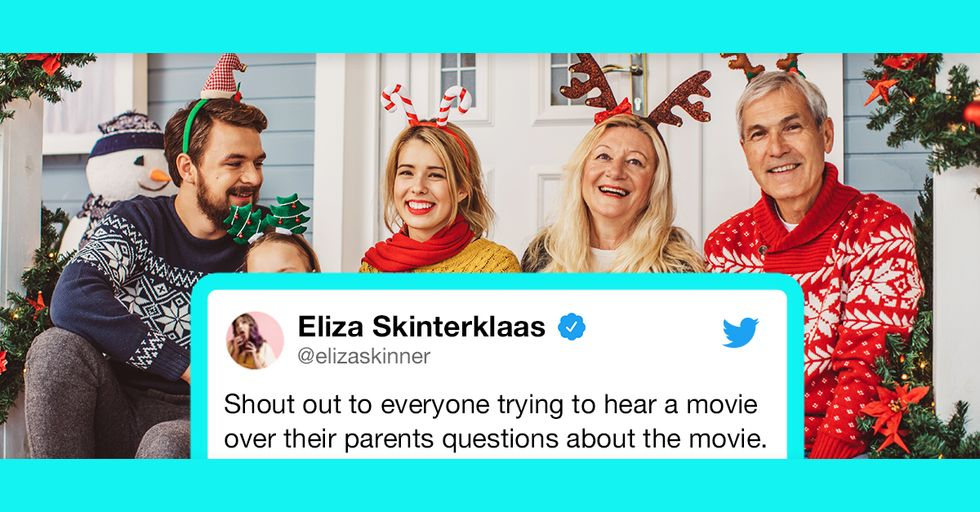 These Hilarious Tweets About Being Home for the Holidays Are Almost TOO Real