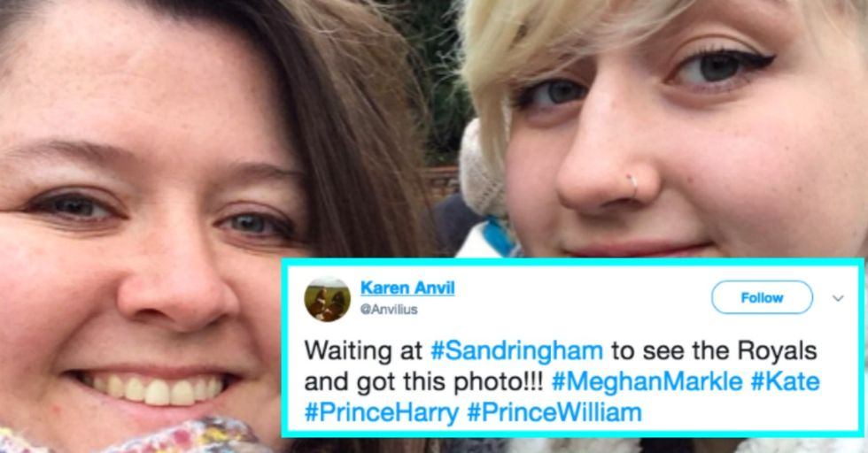 This Fan's iPhone Photo of the Royal Family Went Insanely Viral and Has Been Seen Around the World
