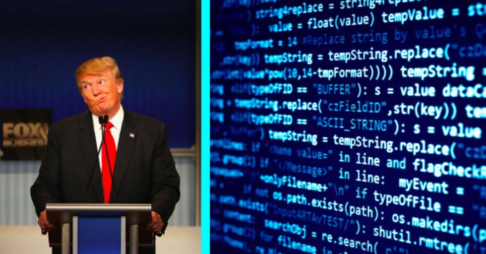 Trump's Website Had a Secret Insult for Barack Obama Hidden in Its Code