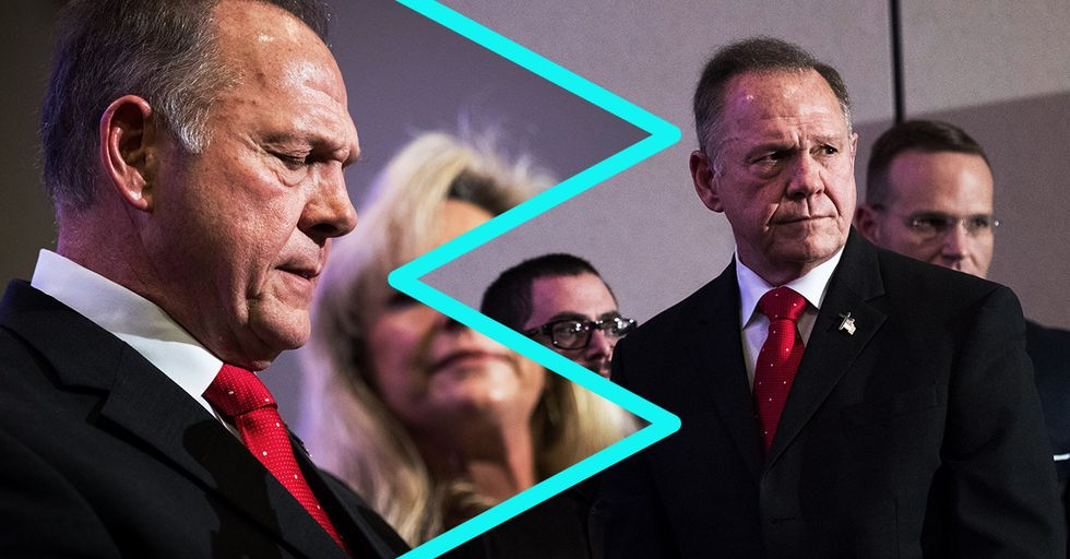 Sore Loser Roy Moore Still Refuses to Concede the Alabama Election — Here's Why
