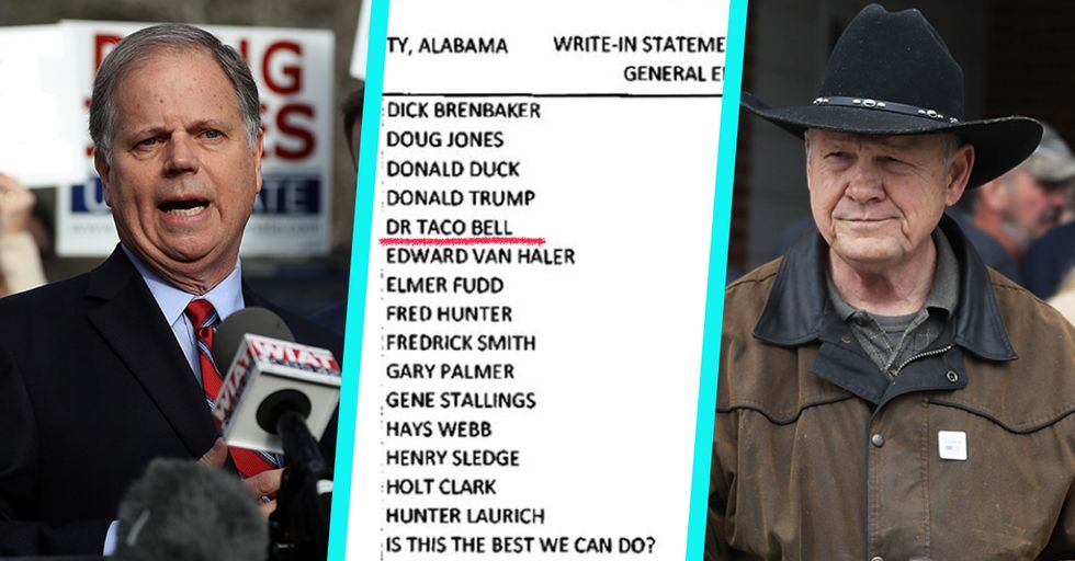 From Jesus Christ to Donald Duck, These Are the Insane Write-In Candidates From the Alabama Senate Election