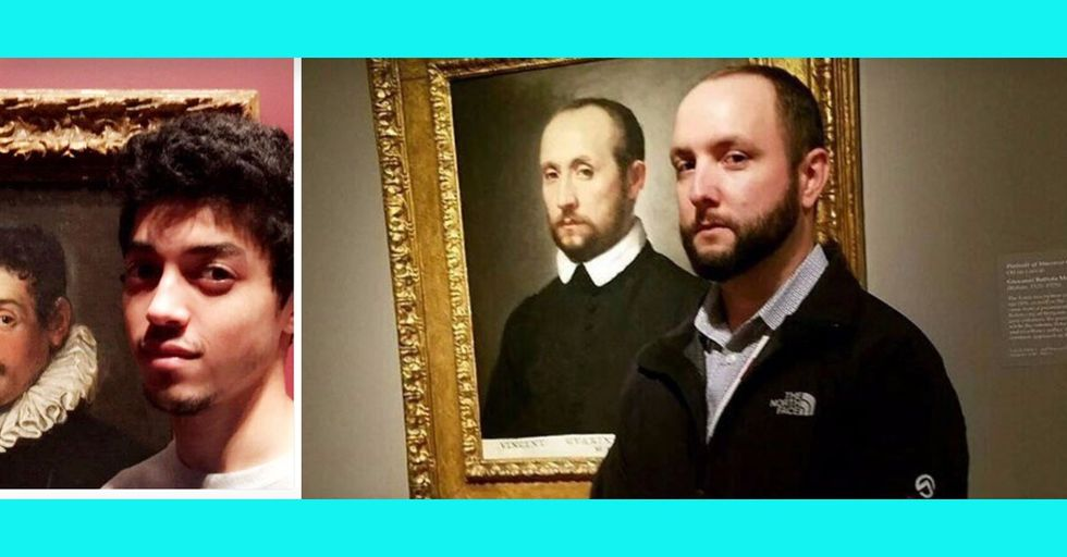 45 Insane Museum Doppelgängers With Seriously Uncanny Resemblances