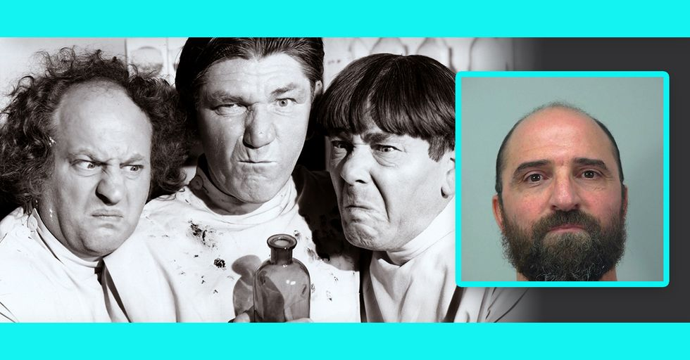 Barber From Hell Gives His Client a 'Three Stooges' Haircut as Payback for Moving Around Too Much