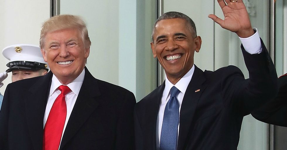 Trump Claimed His Approval Rating Is the Same as Obama's in His First Year. It Is Not.