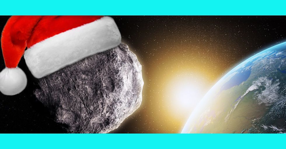 A Massive Asteroid You Never Heard About Skimmed Past Earth in What NASA Is Calling a 'Near Miss' — on Christmas Day