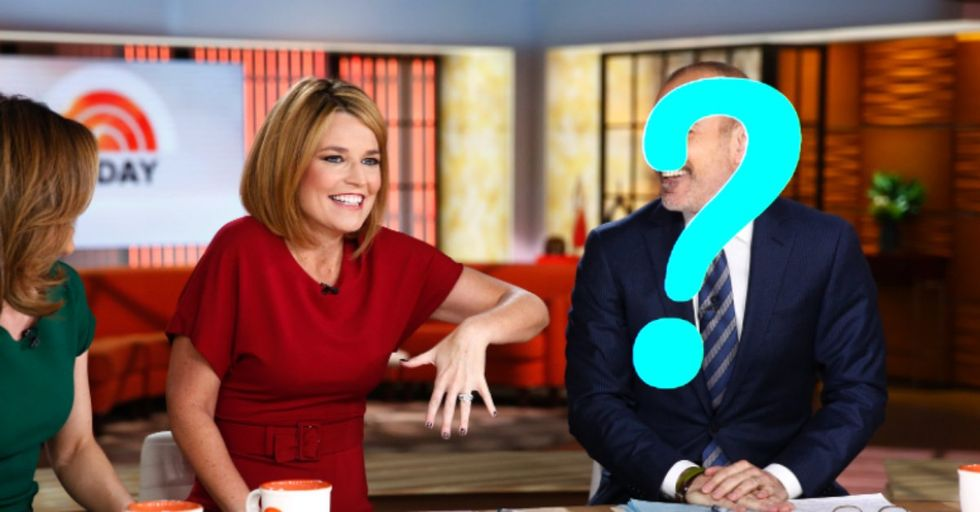 Matt Lauer Has Officially Been Replaced on the 'Today' Show