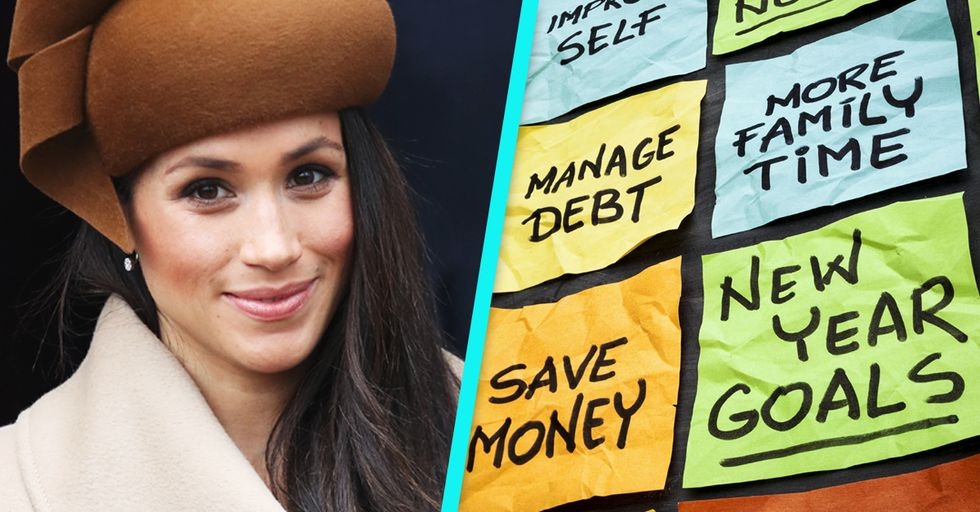 We're Obsessed With Meghan Markle's Surprisingly Relatable New Year's Resolutions