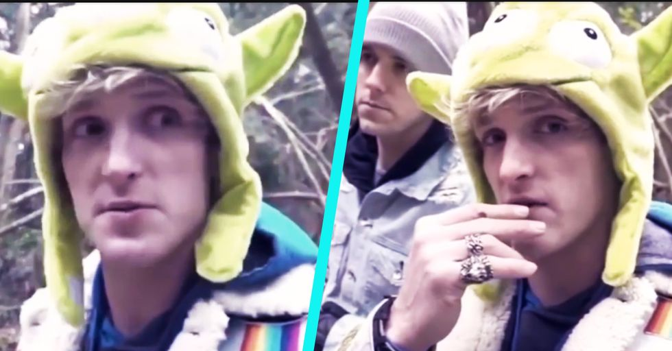 YouTube Star Logan Paul Under Fire for Posting Heinous Video of a Suicide Victim's Dead Body