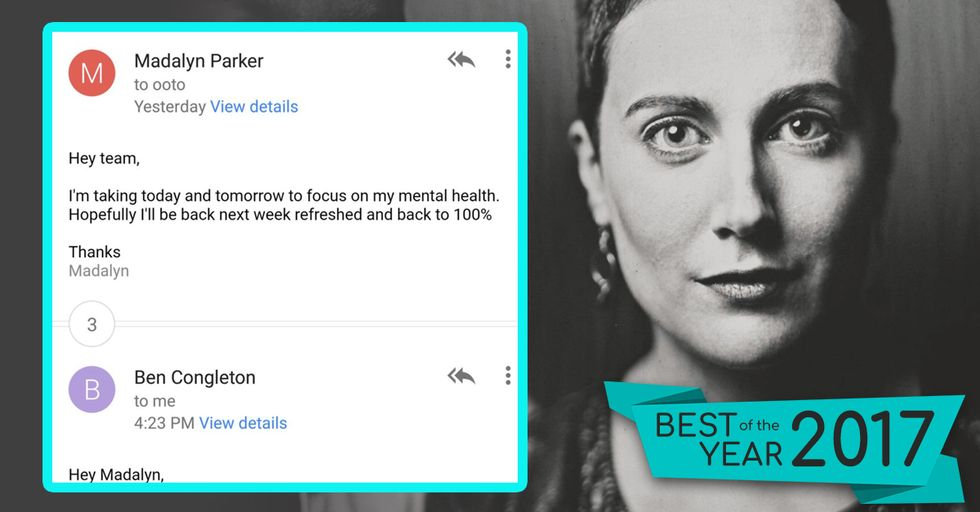 This Woman's Brave Email to Her Employer Is Helping to Shatter Stigmas Around Mental Health