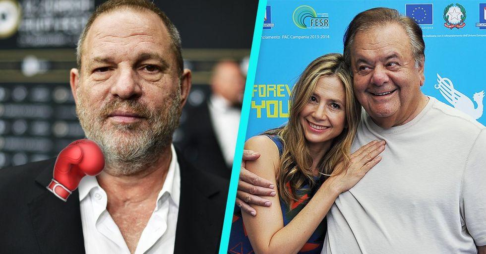 Mira Sorvino's Dad Threatens To Kill Harvey Weinstein for Blacklisting His Daughter