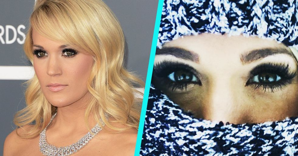 First Photos Emerge After Carrie Underwood's Shocking Freak Accident