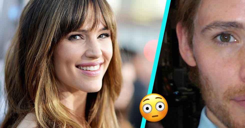 People Are Calling Jennifer Garner and Eddie Redmayne Twins After She Posted This Picture of Herself in Male Makeup