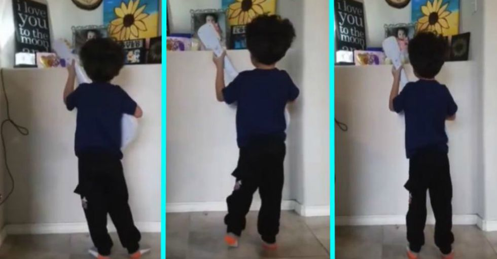 You'll Need Tissues After Watching This 4-Year-Old-Boy Sing 'Remember Me' From 'Coco' to His Late Sister