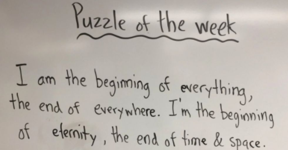 This First Grader's Brutally Hilarious Riddle Answer Is So 2018 (In an Existential Crisis Sort of Way)