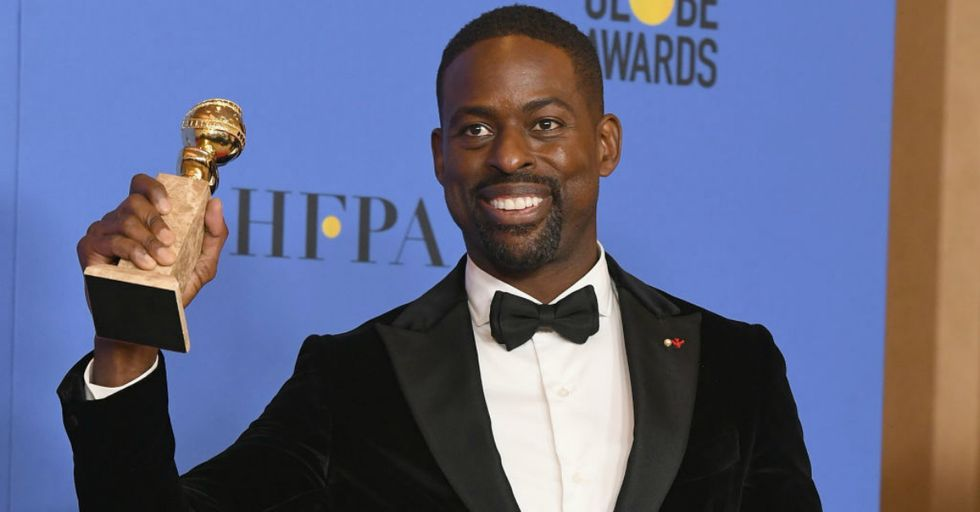Sterling K. Brown Just Made History With His Golden Globes Win