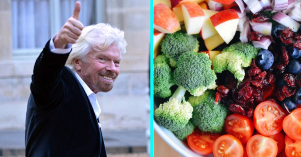 Richard Branson Is Convinced Humans Won't Be Eating Any Meat in 30 Years