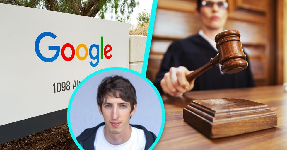 A White Guy Is Suing Google for Discriminating Against Other White Guys