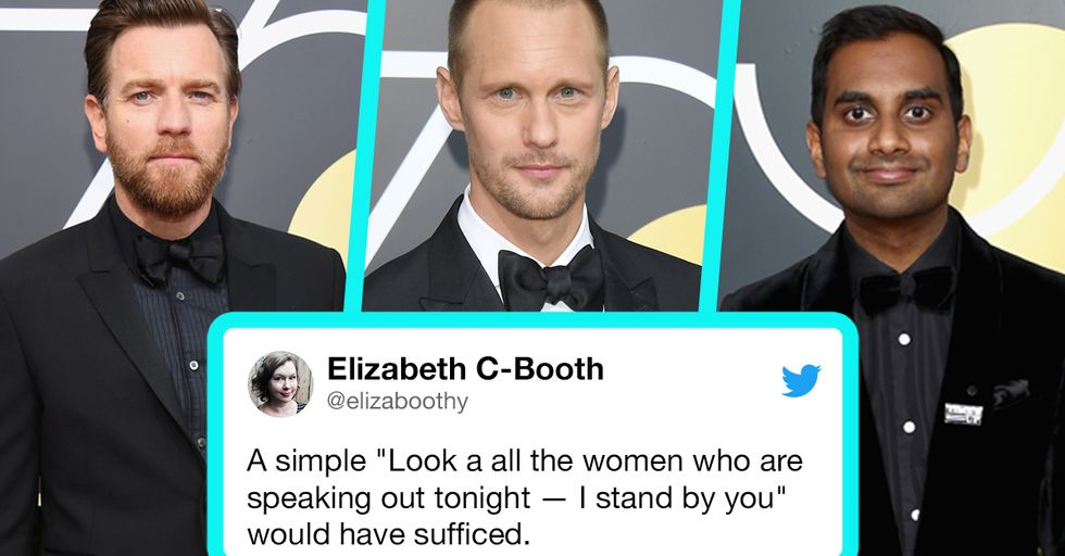 Male Actors' Silence at the Globes on 'Times up' and #MeToo Is an Act of Stunning Cowardice