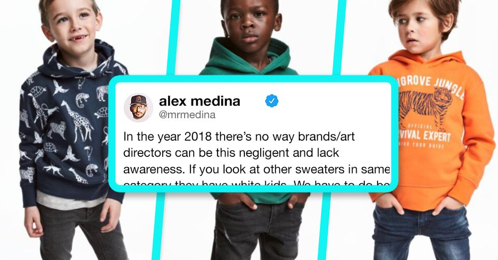 H&M Finds Itself in Hot Water for Racist Advertising, Once Again