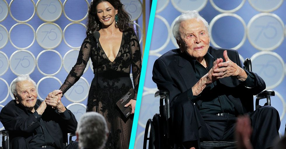 Kirk Douglas Being Honored at the Golden Globes Proves We Still Have a Long Way to Go
