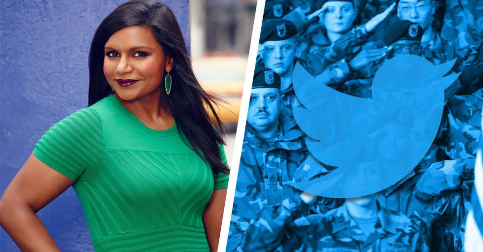 The US Military Just Used a Mindy Kaling GIF to Show Their True Feelings About Trump