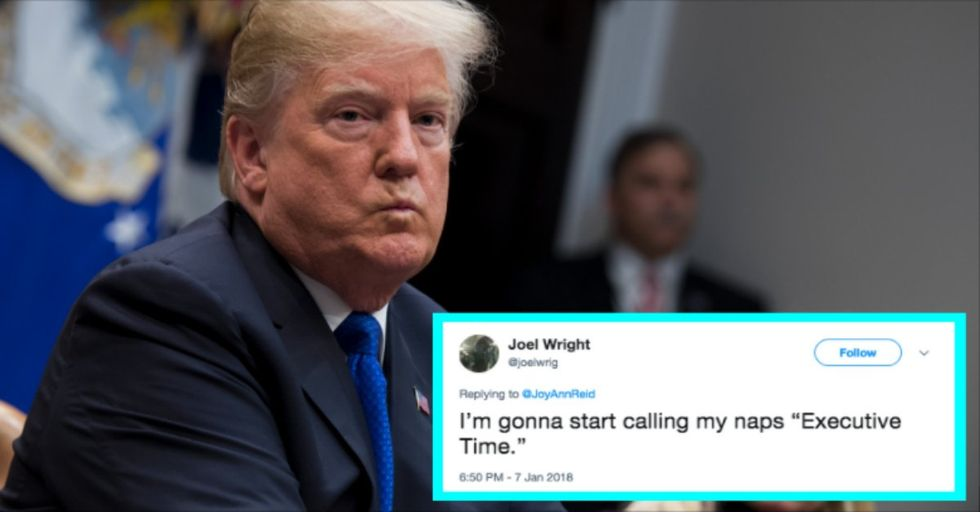 Trump Takes 'Executive Time' to Watch TV and Tweet Every Day, Because of Course He Does