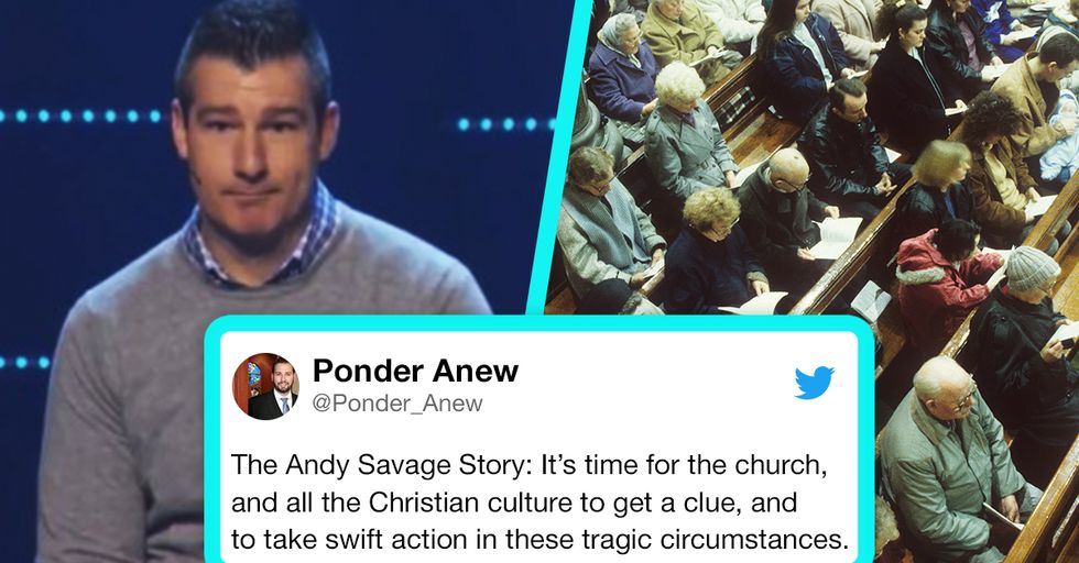 Megachurch Pastor Given Standing Ovation After Admitting He Orally Raped a Teenage Girl