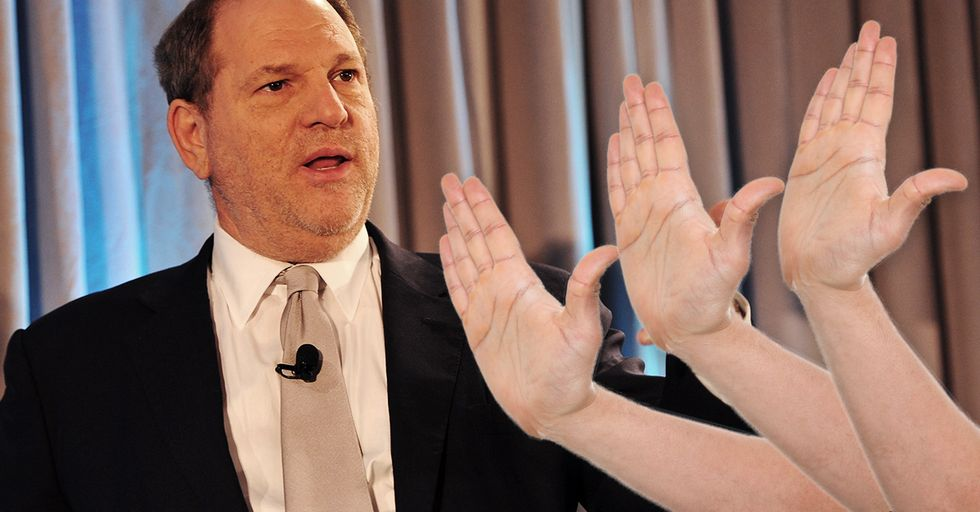 Harvey Weinstein Was Slapped Across the Face at a Restaurant and I Am Not Mad About It