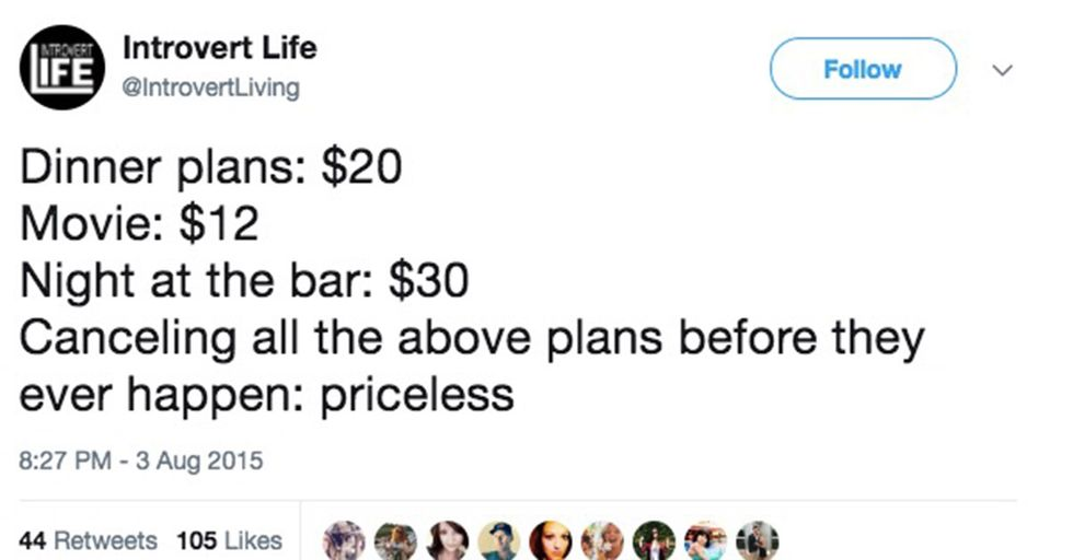 15 Tweets Will Speak to Your Soul If You Love Flaking on Plans