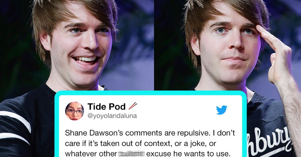 YouTuber Shane Dawson Is Being Slammed for Making Pedophelia 'Jokes' About a 6-Year-Old