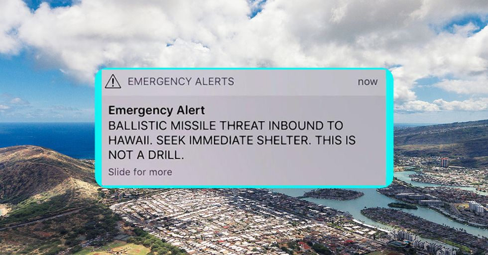 Terrifying Fake Missile Alarm Throws Hawaii Into Widespread Panic