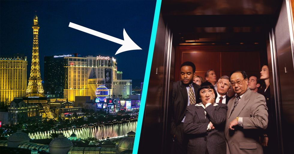 I Was Trapped in a Full Elevator 47 Stories up at the Biggest Tech Show of the Year