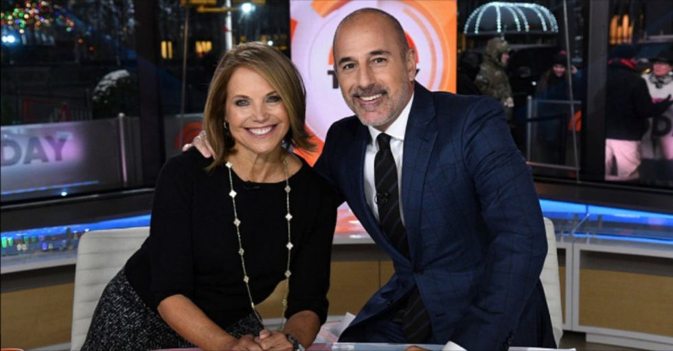 Katie Couric Finally Speaks out About Matt Lauer Allegations