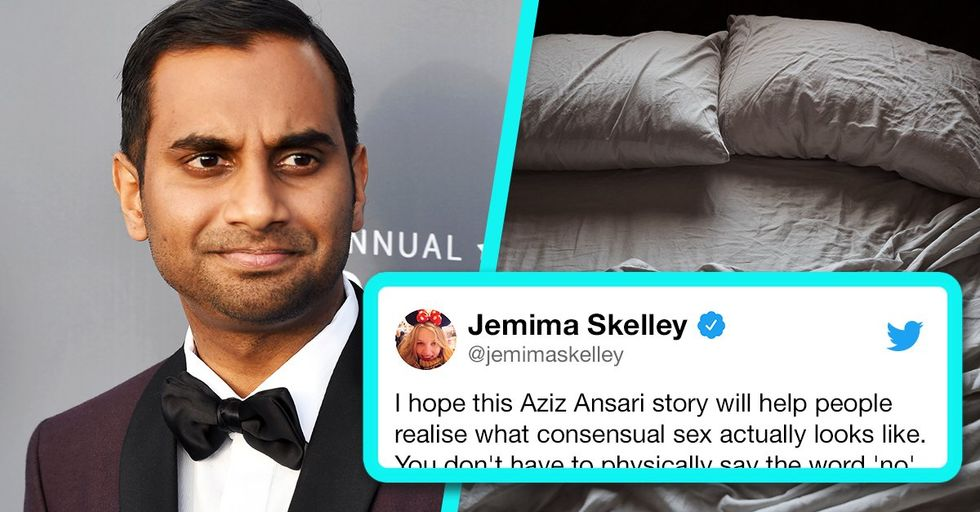 The New Aziz Ansari Sexual Assault Allegations Prove That the System's Still Very Broken