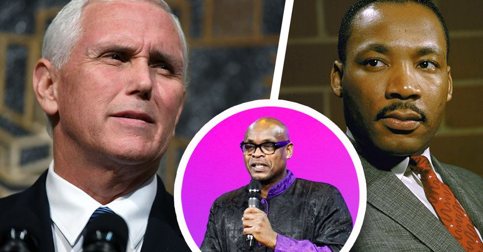 Mike Pence Attended Church on MLK Day and Had to Sit Through an Intense Anti-Trump Sermon
