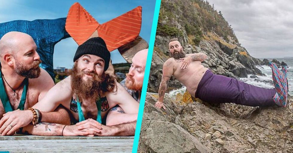 A Calendar Full of Burly, Fish-Tailed 'Mermen' Is Raising Boatloads of Money for Charity