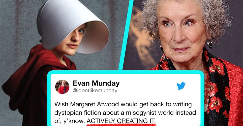 'Handmaid's Tale' Author Margaret Atwood Slammed for Essay Asking 'Am I a Bad Feminist?'