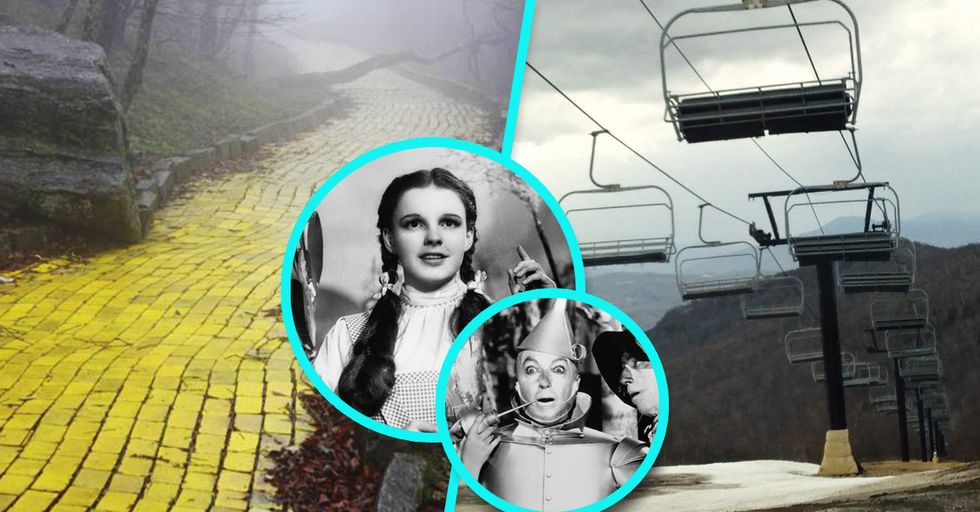 15 Stunningly Creepy Pictures of the Abandoned 'Land of Oz' Theme Park