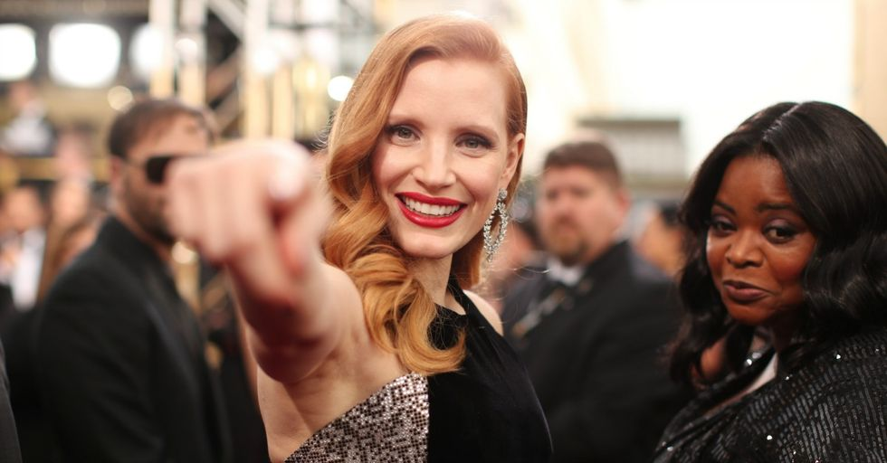 Jessica Chastain Is a Badass Who Once Kicked Her Mom's Boyfriend in the Balls