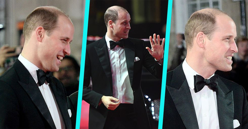 Prince William Finally Shaved His Head, and Honestly, We're Kinda Into It