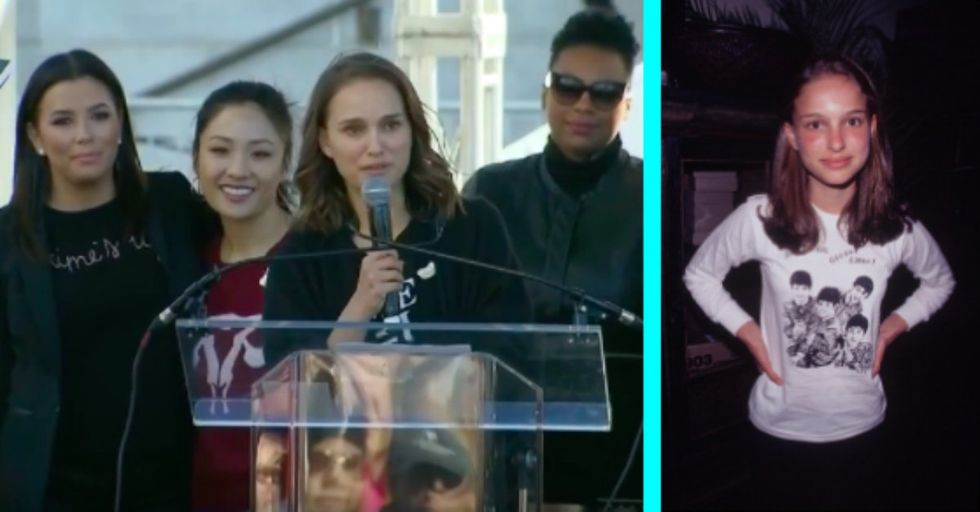 In Powerful Women's March Speech, Natalie Portman Reveals She Was Sexualized at Age 12
