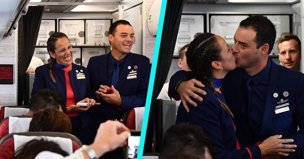 Pope Francis Married These Two Flight Attendants in an Adorable Midair Ceremony