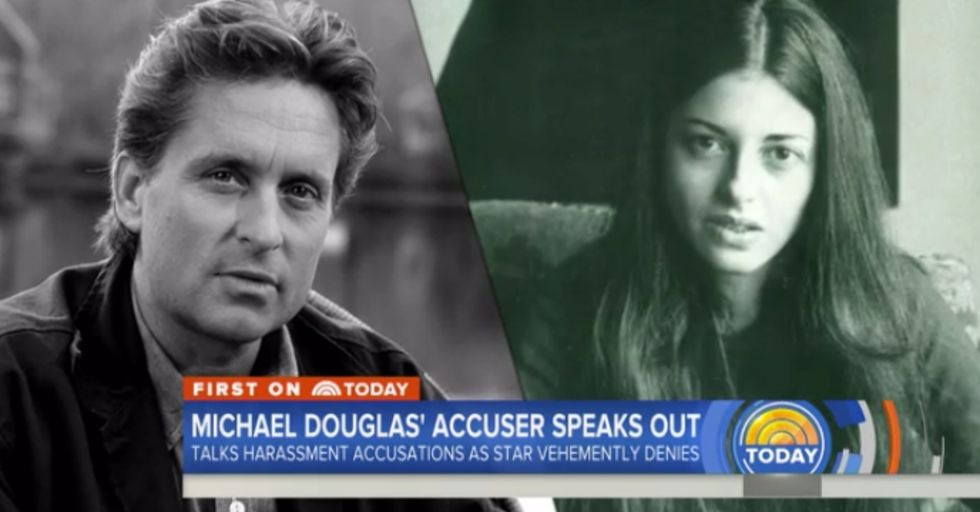 Michael Douglas' Accuser Breaks Her Silence About Allegations of Sexual Misconduct