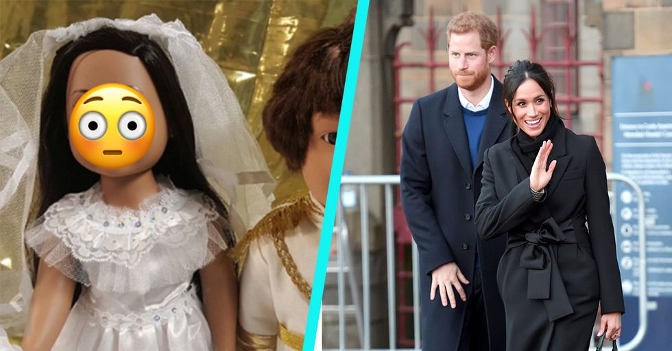A Woman Made Prince Harry and Meghan Markle Dolls, but They're Hilariously Unrecognizable