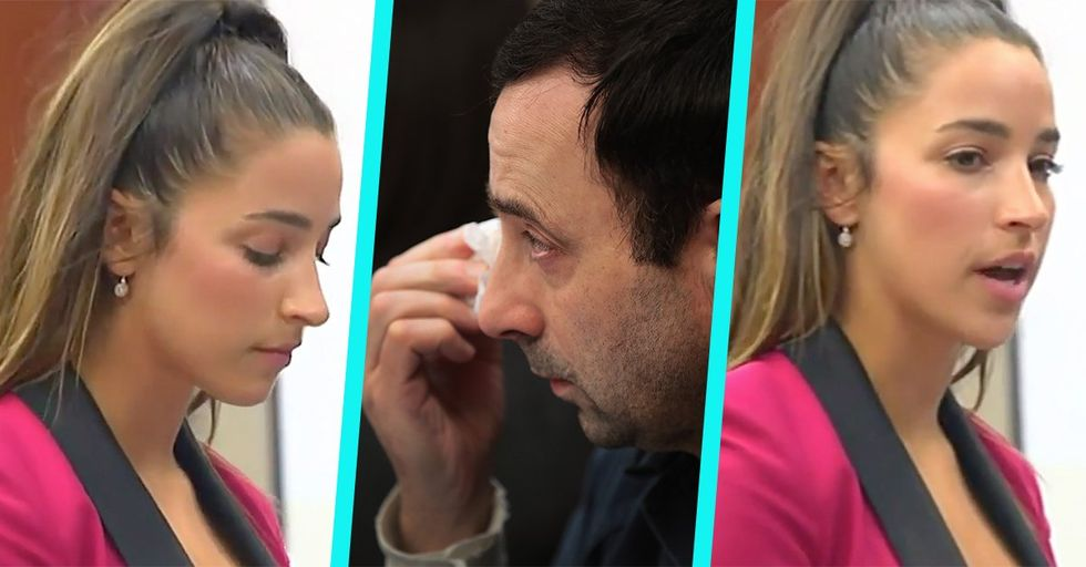 Aly Raisman Just Delivered a Heartbreaking and Incredibly Brave Testimony Against Larry Nassar