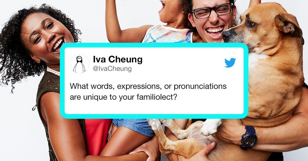 People Are Sharing Their Families' Unique 'Language' and We Can't Stop Laughing